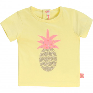 T-shirt en coton illustré BILLIEBLUSH pour FILLE
