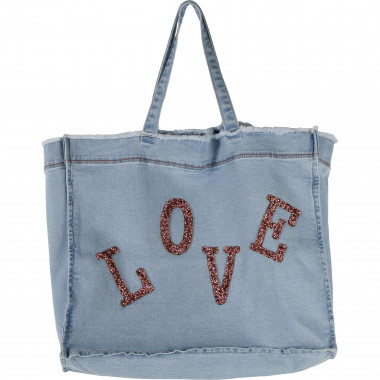Sac de plage en denim BILLIEBLUSH pour FILLE