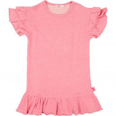 Robe en molleton à volants BILLIEBLUSH pour FILLE