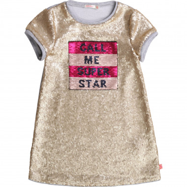 Robe à sequins dos molleton BILLIEBLUSH pour FILLE