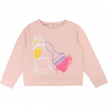 Sweat-shirt à pois BILLIEBLUSH pour FILLE