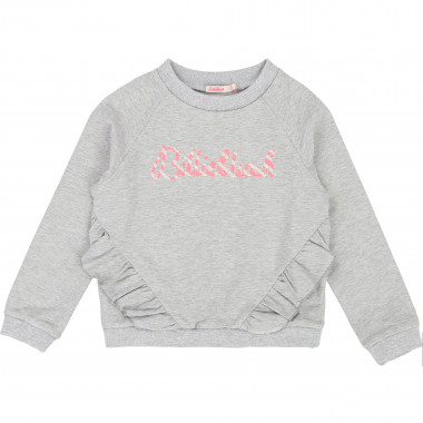 Sweatshirt molleton signature BILLIEBLUSH pour FILLE