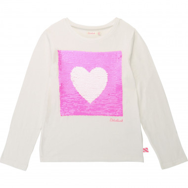T-shirt fantaisie à sequins BILLIEBLUSH pour FILLE