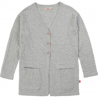 Cardigan long en tricot BILLIEBLUSH pour FILLE