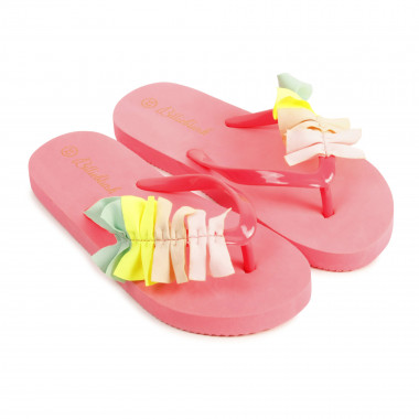 Tongs à volants multicolores BILLIEBLUSH pour FILLE