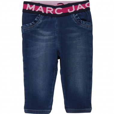 Pantalon molleton denim LITTLE MARC JACOBS pour FILLE