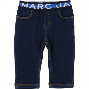 Pantalon molleton denim LITTLE MARC JACOBS pour GARCON