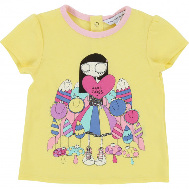 T-shirt imprimé jersey THE MARC JACOBS pour FILLE