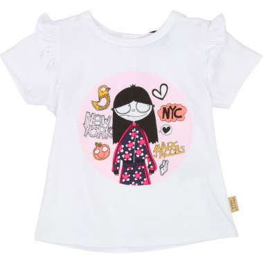T-shirt en jersey LITTLE MARC JACOBS pour FILLE