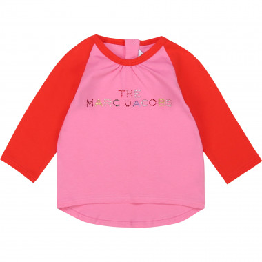 T-shirt 100% coton avec strass THE MARC JACOBS pour FILLE
