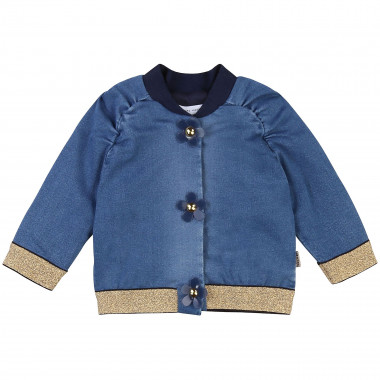 Blouson en molleton THE MARC JACOBS pour FILLE
