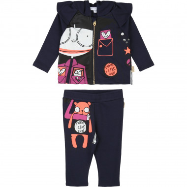 Ensemble jogging en milano LITTLE MARC JACOBS pour FILLE