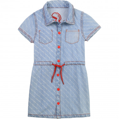 Robe réversible en denim léger THE MARC JACOBS pour FILLE