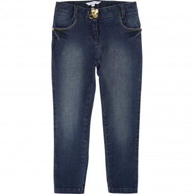 Jean slim en coton extensible LITTLE MARC JACOBS pour FILLE