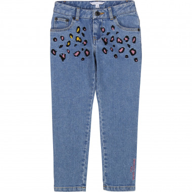 Pantalon slim en denim THE MARC JACOBS pour FILLE
