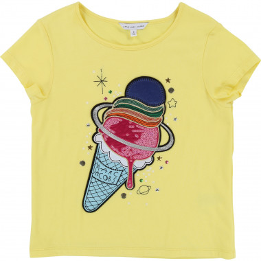 T-shirt coton modal fantaisie LITTLE MARC JACOBS pour FILLE