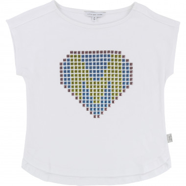 T-shirt fantaisie studs LITTLE MARC JACOBS pour FILLE