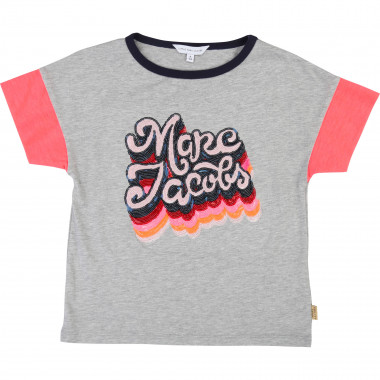 T-shirt motif en sequins LITTLE MARC JACOBS pour FILLE