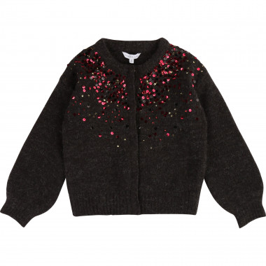 Cardigan maille avec sequins LITTLE MARC JACOBS pour FILLE