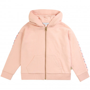 Cardigan à capuche zippé LITTLE MARC JACOBS pour FILLE