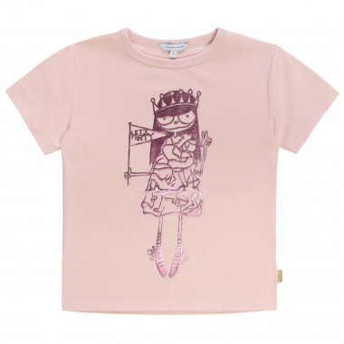 T-shirt en jersey de coton LITTLE MARC JACOBS pour FILLE