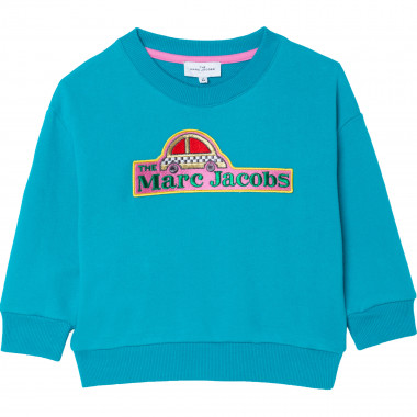 Sweat en molleton avec patch THE MARC JACOBS pour FILLE