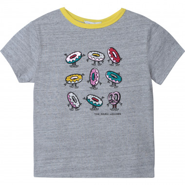 T-shirt en jersey de coton THE MARC JACOBS pour FILLE