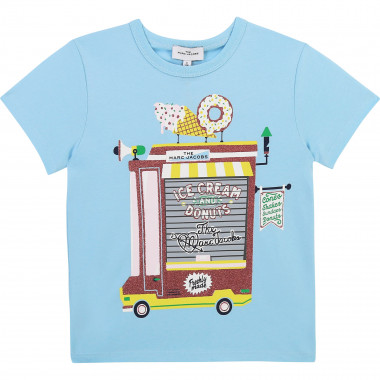 TEE-SHIRT MANCHES COURTES THE MARC JACOBS pour FILLE