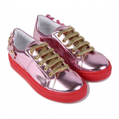 Baskets en cuir synthétique LITTLE MARC JACOBS pour FILLE