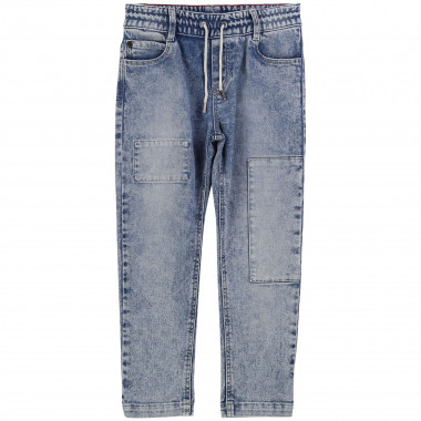 Pantalon denim coupe loose THE MARC JACOBS pour GARCON