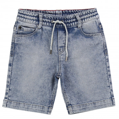 Bermuda en denim fantaisie THE MARC JACOBS pour GARCON