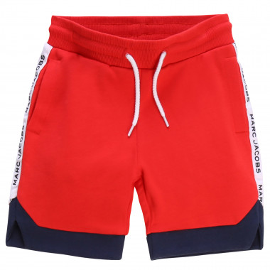 Bermuda de jogging bicolore THE MARC JACOBS pour GARCON