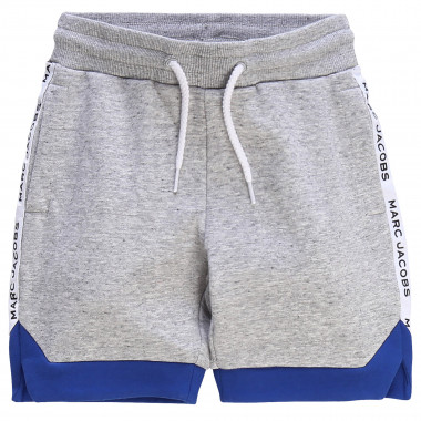 Bermuda de jogging bicolore LITTLE MARC JACOBS pour GARCON