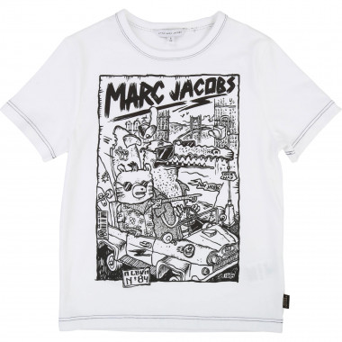 T-shirt jersey coton LITTLE MARC JACOBS pour GARCON