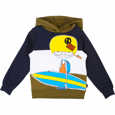 Sweat-shirt molleton LITTLE MARC JACOBS pour GARCON