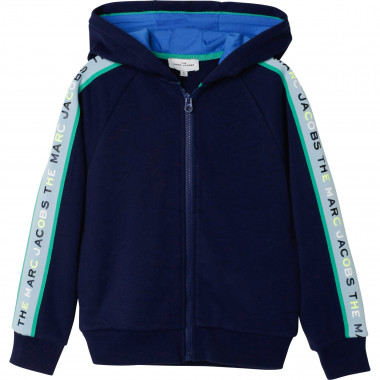 Cardigan de jogging molletonné THE MARC JACOBS pour GARCON