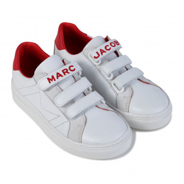 Baskets en cuir à scratch THE MARC JACOBS pour GARCON