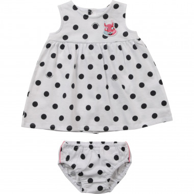 Ensemble robe + bloomer à pois THE MARC JACOBS pour UNISEXE