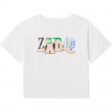 TEE-SHIRT MANCHES COURTES ZADIG & VOLTAIRE pour FILLE