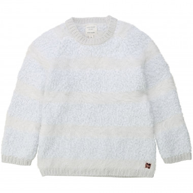 Pull en tricot point fantaisie CARREMENT BEAU pour FILLE