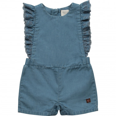 Combi-short en denim CARREMENT BEAU pour FILLE