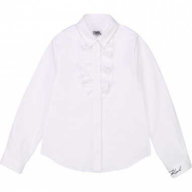 CHEMISE KARL LAGERFELD KIDS pour FILLE