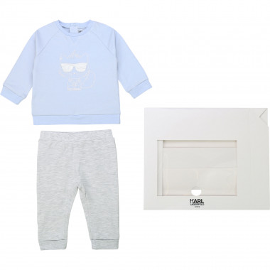 Ensemble sweat pantalon KARL LAGERFELD KIDS pour GARCON