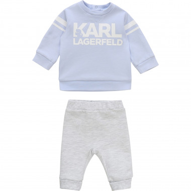 Ensemble sweat + pantalon KARL LAGERFELD KIDS pour UNISEXE