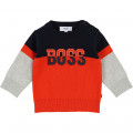 Pull tricot BOSS pour GARCON