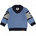 Pull tricot fantaisie TIMBERLAND pour GARCON