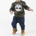 Sweat molleton camouflage TIMBERLAND pour GARCON