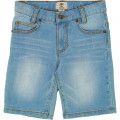 Bermuda regular denim stretch TIMBERLAND pour GARCON