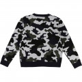 Pull tricot camouflage TIMBERLAND pour GARCON