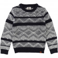 Pull en tricot TIMBERLAND pour GARCON